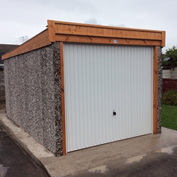 Concrete Sectional Garage 1