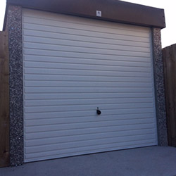 Concrete Sectional Garage 9