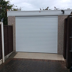 Concrete Sectional Garage 15