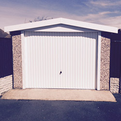Concrete Sectional Garage 21
