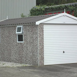 Concrete Sectional Garage 5