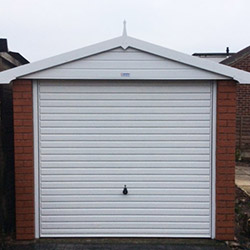 Concrete Sectional Garage 7