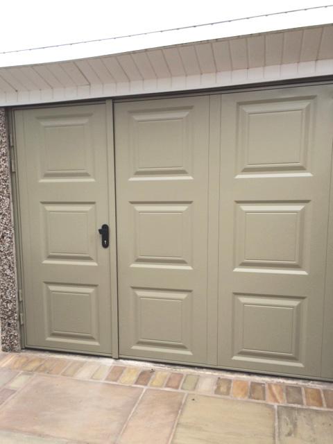Garage Solutions Side Hung Garage Doors And Repairs Blackpool