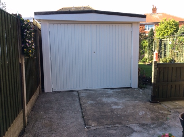 Garage Solutions Side Hung Garage Doors And Repairs Blackpool