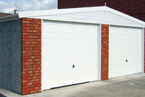 Concrete Sectional Garages