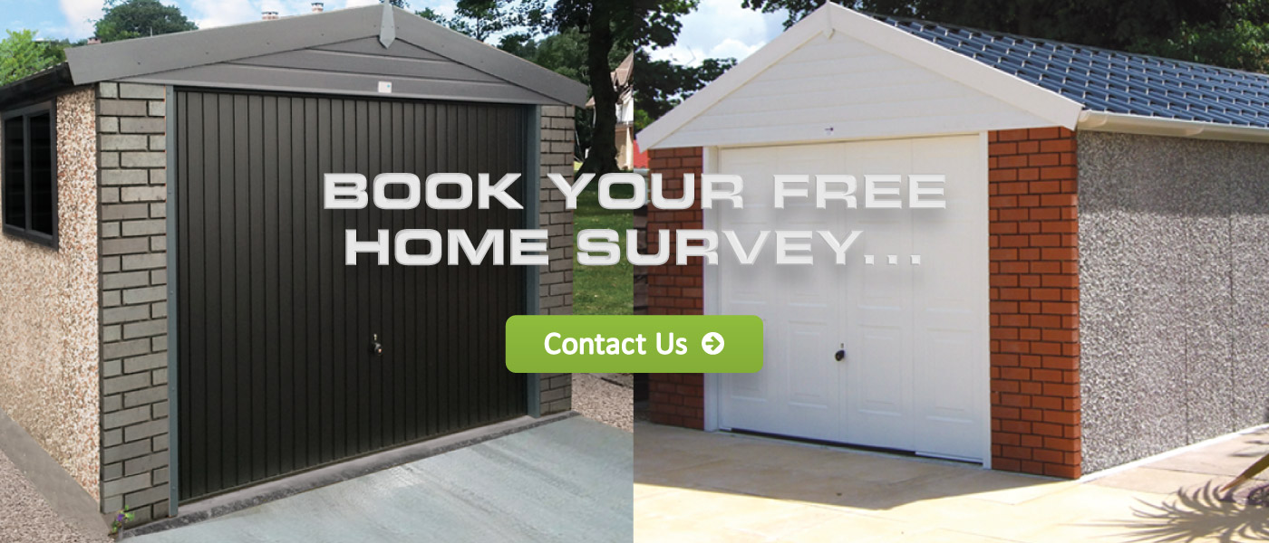 Sectional Garage Doors - Contact Us