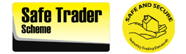 Safe Trader Scheme - Safe and Secure Logo